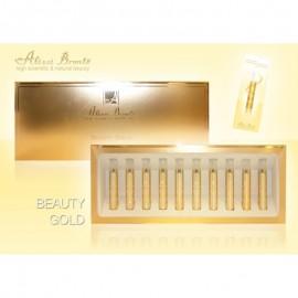 BEAUTY GOLD, SERUN TENSOR& ILUMINADOR ORO- ALISSI BRONTE
