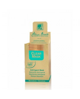 CLEAR MASK Mascarilla Astringente. 20 Monodosis x 5 ml.