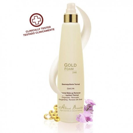 GOLD FOAM DESMAQUILLANTE TERMAL. 200 ml