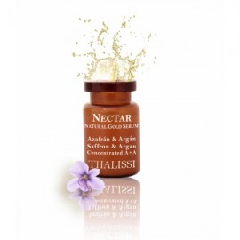 NECTAR Natural Gold Serum Concentrado Azafran & Argan 4 u. x 5 ml