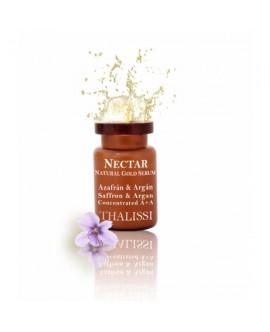 NECTAR Natural Gold Serum Concentrado Azafran & Argan 8 u. x 5 ml