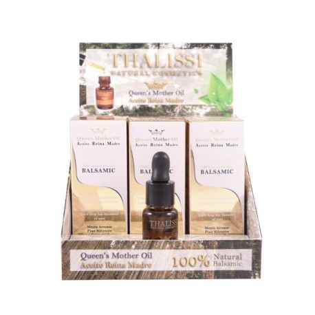 Expositor Queens Mother Oil 17 Ml. (7 Unids)